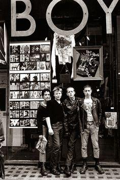 Corvine. - Boys in front of BOY.