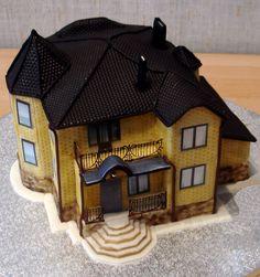 cottage cake. HOLY... detail.