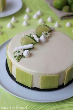 Entremet citron vert coco framboise112