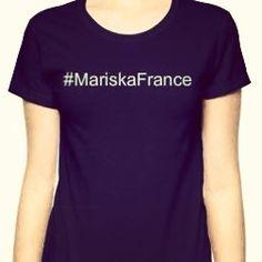 T.shirt #MariskaFrance