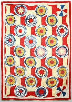 Wonkyworld.... bought this #quilt on ebay . What a unique #pattern. Kudos for saving such a gem.
