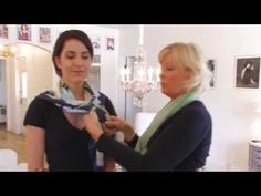 How to tie and wear a square silk scarf - 20 easy and stylish ways. | hubpages
