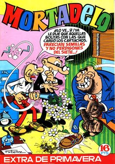 Mortadelo Época 1ª Extra Primavera 1972