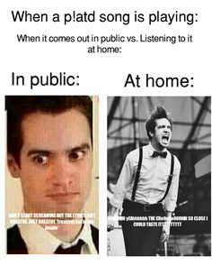 Oh yes with the fam around I dont sing but alone, it turns into a freakin concert hahaha