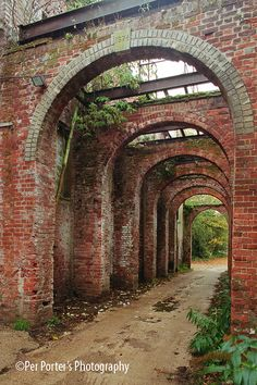 Snape Maltings arches