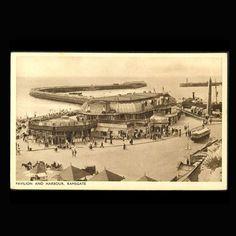 Vintage Postcard Pavillion Harbour Ramsgate by JMCVintagecards