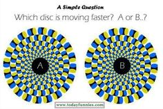 An visual illusion also called as optical illusion is characterized by visually perceived images that different from real object. Optical illusions or visual illusions are fascinating visual Optical Illusion Images, Amazing Optical Illusions, Optical Illusions Pictures, Illusion Pictures, Cool Optical Illusions, Art Optical, Perfect Illusion, Funny Questions, Perception