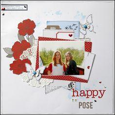 Happy To Pose - Scrapbook.com