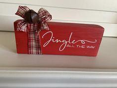 Christmas Blocks, Christmas Signs, Rustic Christmas, Christmas Crafts, Christmas Ornaments, Christmas Ideas, Holiday Ideas, Christmas Holidays, Handmade Christmas Decorations