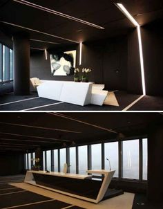 black-interiors-torre-de-cristal-office