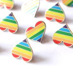 Pride pin, gay lapel pin button, gay pin, LGBTQ pin, Lgbtq decoration, gay…