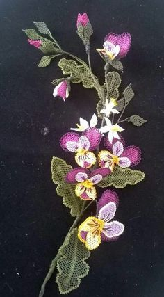 Floral, Flowers, Jewelry, Jewlery, Jewerly, Schmuck, Jewels, Jewelery, Royal Icing Flowers