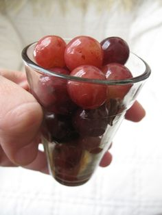 """Crunchy, Spicy Pickled Grapes. I know you're thinking, """"Really? Pickled Grapes?"""" If you're a fan of crunchy, tart, refreshing, spiced-and-spicy things then this recipe is for you."""