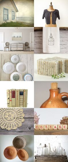 Cottage by Liz T. on Etsy--Pinned with TreasuryPin.com