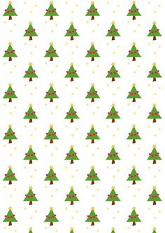 FREE printable Christmas pattern paper