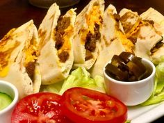 Bbq Steak Pitas recipe by Mrs Admin (mashuda) Bbq Steak, Rump Steak, Pita Recipes, Sandwich Bread Recipes, Ginger And Honey, Food Categories, Coleslaw, Tomato Sauce, Burgers
