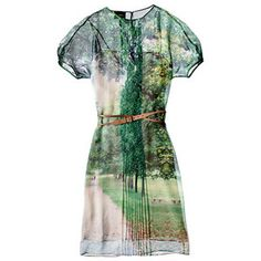 Akris - belted silk dress