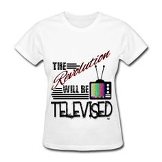 Revolution Shirt  The Revolution Will Be Televised shirt. vintageblack.spreadshirt.com is the ultimate shop for pro black shirts and hats to showcase your self love and black pride.