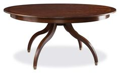 Shop for Hickory White Round Dining Table, and other Dining Room Dining Tables at Goods Home Furnishings in North Carolina. Hickory White Furniture, Large Furniture, Furniture Styles, Dining Furniture, Furniture Design, House Furniture, Black Sideboard, Dining Room Sideboard, White Round Dining Table
