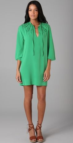 Diane von Furstenberg Arria Embellished Dress
