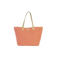 Ame Lulu Ladies Easy Tote Bags Astor (Tangerine Khaki) (1,450 MXN) ❤ liked on Polyvore featuring bags, handbags, tote bags, tote hand bags, tote bag purse, handbags tote bags, ame and handbags totes