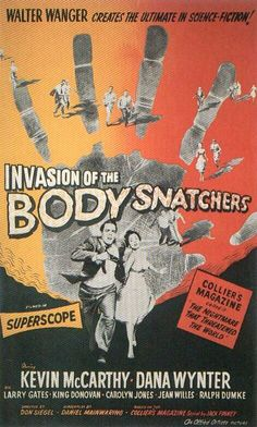1956 Movie Poster Invasion of the Body Snatchers