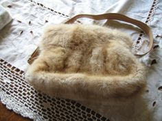 Made in France Mink  Fur Purse   Made in France by CoyoteWoodWorks, $135.00