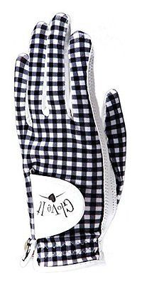 Golf Gloves 181146: Glove It Womens Between Gingham Golf Glove Small, Right Hand BUY IT NOW ONLY: $34.91