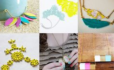 Look out old accessories, my necklace choices just increased exponentially! 31 DIY necklace designs!