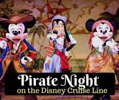 Wondering what it's like on Pirate Night aboard the Disney Cruise Line? Check out all the fun things you get to experience.