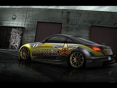 Nissan by Active-Design on DeviantArt Pimped Out Cars, Rockstar Energy Drinks, Active Design, Nissan Z, Nsx, Car Wrap, Hd Wallpaper, Wallpapers, Custom Cars