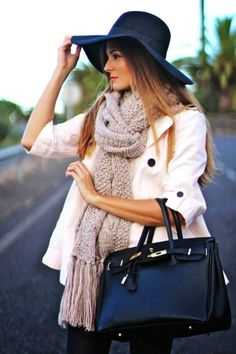 Scarf, Trench, Tote Bag - 2015 New Year