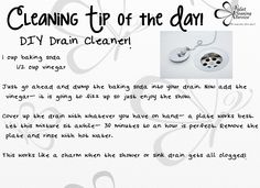 #DIY #draincleaner #lifehack #cleanliving #cleanservice #cleaningtip