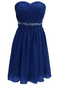 Dressystar Short Knee-length Royal blue Bridesmaid Dresses Size 2 Dressystar,http://www.amazon.com/dp/B00GAVU3TG/ref=cm_sw_r_pi_dp_.TJFtb1XCBZSNYYM
