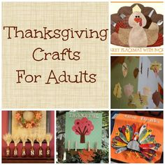 Thanksgiving Crafts {For Adults} | Making Time for Mommy Thanksgiving Fashion, Thanksgiving Crafts For Kids, Thanksgiving Activities, Thanksgiving Decorations, Fall Crafts, Thanksgiving Recipes, Holiday Crafts, Holiday Fun, Holiday Ideas