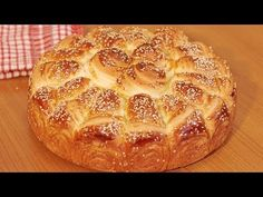 Pogača 'Kornet' - Home made cone bread - YouTube