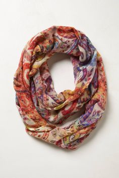 Mirabella Infinity Scarf - anthropologie.com  I can't help myself...it's paisley for goodness sake!