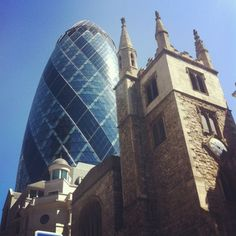 Old and new London