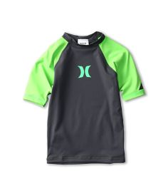 Hurley Kids One & Only S/S Rashguard (Big Kids)