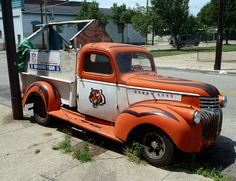 West End area of Cincinnati, Ohio. While this truck is fairly rusty and obviously not in mint condition, it appears to still be operable. Because of local laws, I wouldn't think it could just be left on the street for extended periods of time. Then a Buy Cheap Cincinnati Bengals Tickets at Low Prices.  See Why Bengals Fans Shop Here.