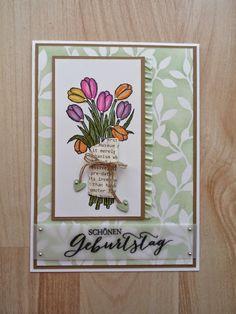 Papierbastler: Geburtstagskarte