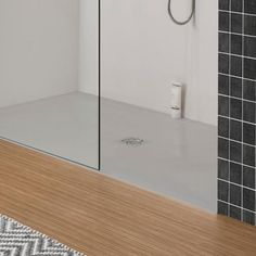 This Crosswater Simpsons Storm Grey Stone Resin x Rectangular Shower Tray is made from the finest natural materials, featuring a slimline design and a durable, glossy finish that would suit any contemporary bathroom. Interior Design Institute, Interior Plants, Shower, Mirror, Grey, Furniture, Bathrooms, Resin, Range