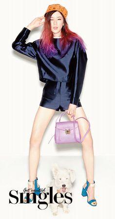 Irene Kim - MCM Tina Bag