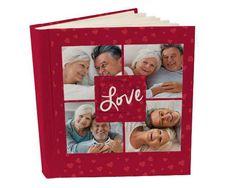 Album 26x30 con tasche Love for collage