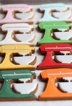 Mixer Cookie Tutorial on Sweetopia