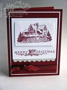 Jan Tink - Stampin' Up! - Christmas Lodge