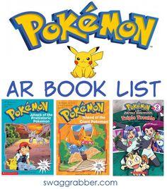Pokemon AR Books - Pokemon Books Valid for the Accelerated Reader Program - http://www.swaggrabber.com/?p=305938