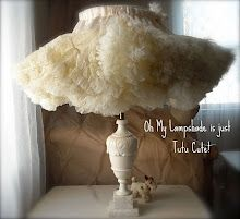Tutu lamp idea for The girls