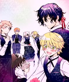 "Pandora Host club by LiyiBezarius Pandora Hearts Omake xD ""Maidora Hearts"""
