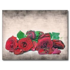 Roses Post Card #Roses #Flower #Postcard